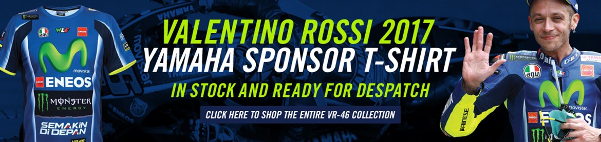 Rossi Yamaha sponsored shirt