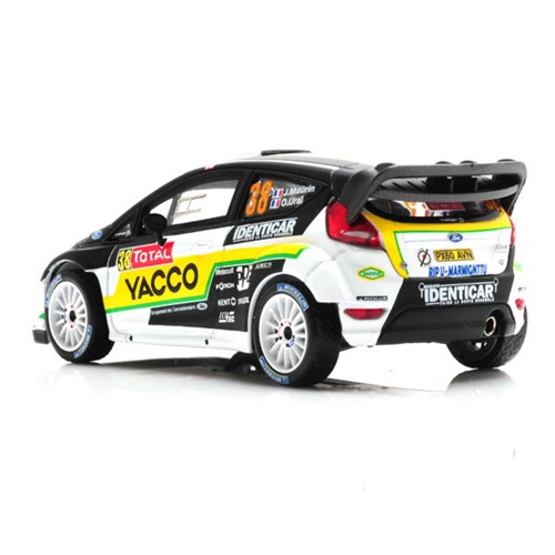 ford fiesta rs wrc 2012 rally monte carlo 38 j maurin 1 43. Black Bedroom Furniture Sets. Home Design Ideas