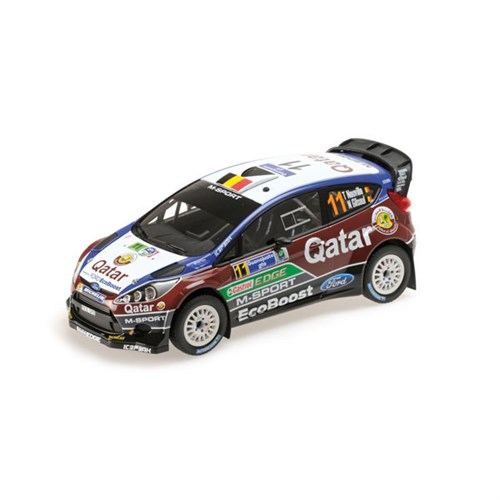 ford fiesta rs wrc 3rd 2013 rally of mexico 11 t neuville 1 18. Black Bedroom Furniture Sets. Home Design Ideas