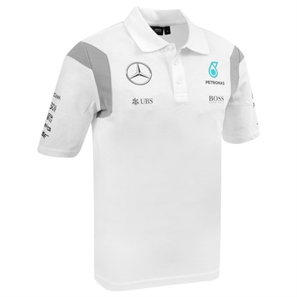 Mercedes AMG 2016 Replica polo - White