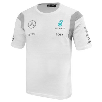 Mercedes AMG 2016 Driver T-Shirt - White