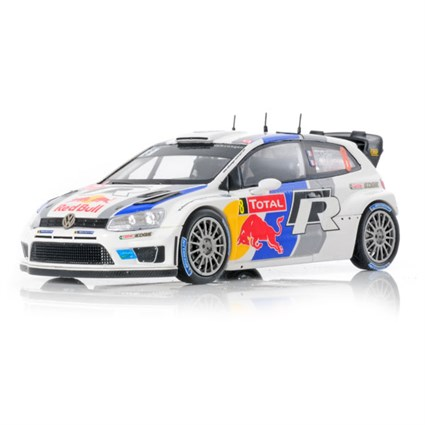 Volkswagen Polo WRC - 2nd 2013 Monte Carlo Rally - #8 S. Ogier 1:43