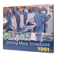 Signed Stirling Moss Scrapbook 1961