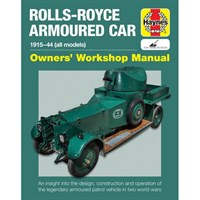 Rolls-Royce Armoured Car Owners Workshop Manual