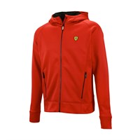 Ferrari Powerstretch Mens hoodie - Red