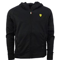 Ferrari Powerstretch Mens hoodie - Black