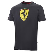 Ferrari Classic Scudetto Badge T-Shirt - Black