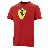 Ferrari Classic Scudetto Badge T-Shirt - Red
