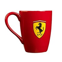Ferrari Scudetto China Mug Red