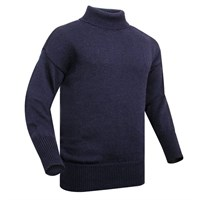 Submariner Rollneck Sweater Navy Blue