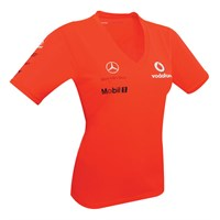 Vodafone McLaren Mercedes ladies Victory T-shirt