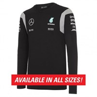 Mercedes AMG 2016 Long Sleeved Drivers T-Shirt - Black