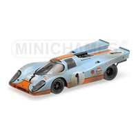 Porsche 917 'Gulf' 'Dirty Version' - 1970 Daytona 24 Hours - #1 1:43