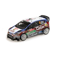 Ford Fiesta RS WRC - 2013 Monte Carlo Rally - #4 M. Ostberg 1:18