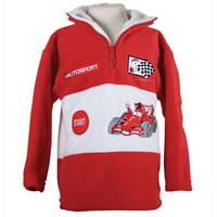 Jim Bamber Children's F1 Fleece Red/White