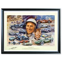 Still Going Strong at 80 Stirling Moss print - Unsigned
