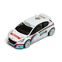 Peugeot 208 T16 Test Car - 2013 - P. Andreucci 1:43