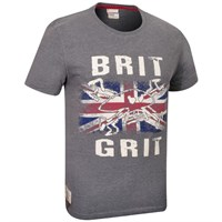 Red Torpedo Guy Martin Brit N Grit T-Shirt - Graphite