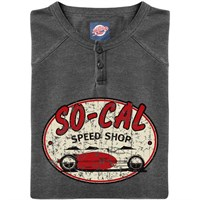 Retro Legends Socal Speed Shop Grandad - Grey