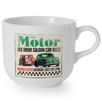 Retro Legends Motor 6HR Jumbo Mug