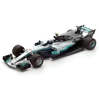 Mercedes F1 W08 - 1st 2017 Russian Grand Prix - #77 V. Bottas 1:18