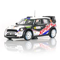 Mini Cooper WRC - 2012 Rally of France - #69 R. Dumas 1:43