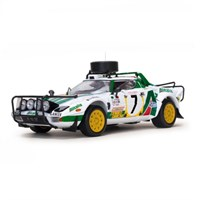 Lancia Stratos HF - 1977 Safari Rally - #7 S. Munari 1:18