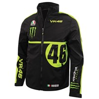 Rossi Vr46 2016 Monster Monza Softshell - Black/Yellow