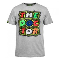 Rossi 2016 The Doctor T-Shirt - Grey