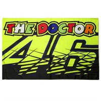 Rossi 2016 The Doctor Flag Yellow