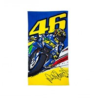 Rossi 2017 46 Bike Beach Towel 170x90