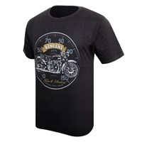 Vincent Black Shadow T-Shirt Black