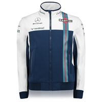Williams 2017 Zip Sweat Blue/White