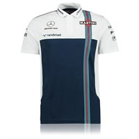 Williams 2017 Garage Polo Blue/White