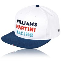 Williams 2017 Flat Brim Cap White