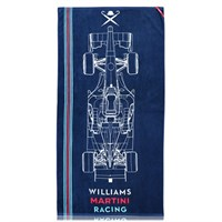 Williams 2017 Car Towel Navy