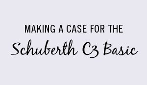 Making a case for the Schuberth C3 Basic.