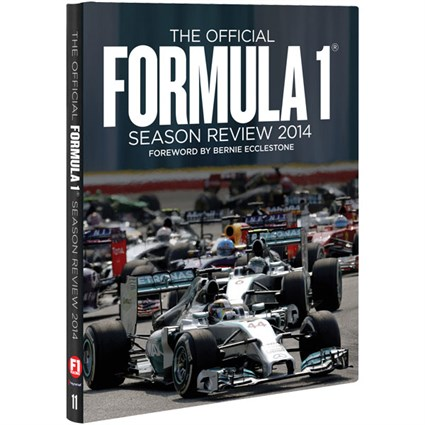 F1 Season Review 2014 book