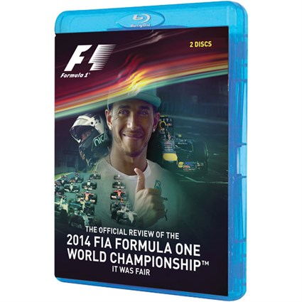 2014 F1 World Championship Bluray