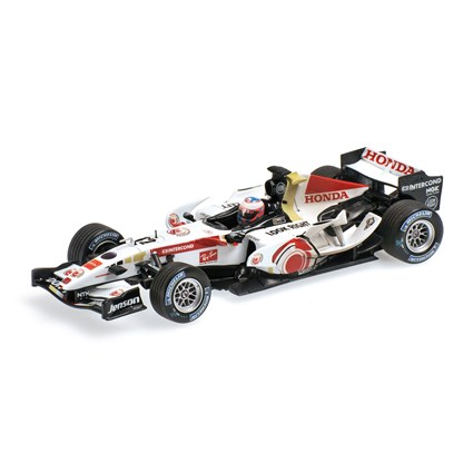 Honda RA106 - 1st Hungarian Grand Prix 2006 - #12 J. Button 1:43
