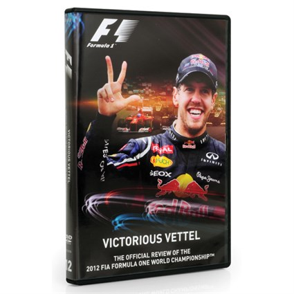 2012 FIA Formula One Season Review DVD