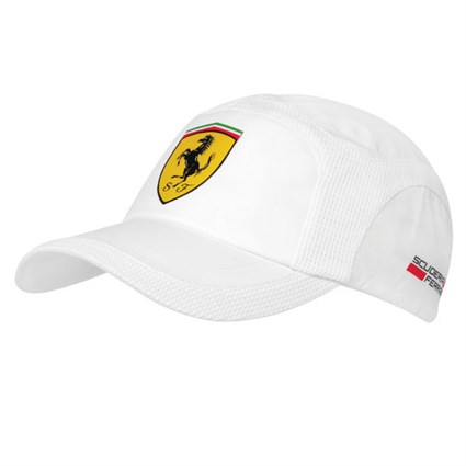 Ferrari summer cap white