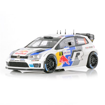 Volkswagen Polo WRC - 1st 2013 Rally of France - #8 S. Ogier 1:43