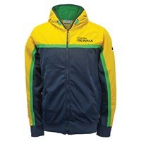Senna Racing Zip hoody Navy/Yellow