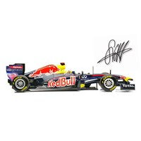 Signed Red Bull RB7 - 2011 - #1 S. Vettel 1:18