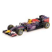 Signed Red Bull RB10 - 2014 - #3 D. Ricciardo 1:18