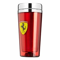 Ferrari Travel Mug - Red