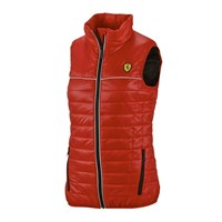 Ferrari Ladies Padded Vest - Red