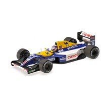 Signed Williams FW14B - World Champion 1992 - #5 N. Mansell 1:18