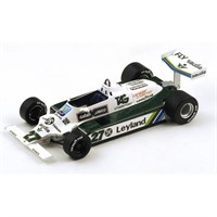 Signed Williams FW07B - 1980 World Champion - #27 A. Jones 1:18